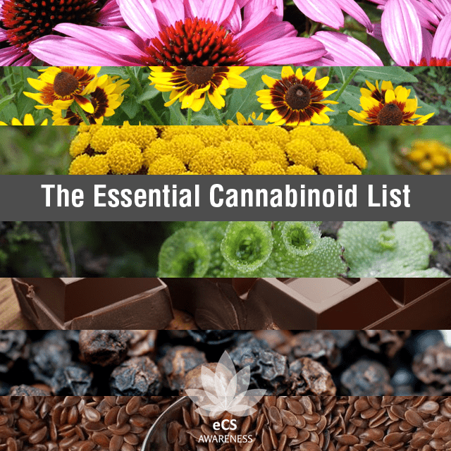 Essential Cannabinoid List